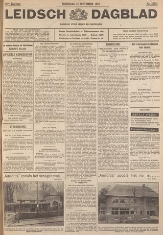 Leidsch Dagblad 1932-09-21