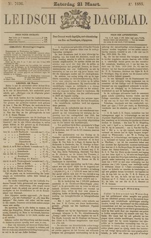 Leidsch Dagblad 1885-03-21