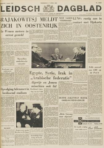 Leidsch Dagblad 1963-04-17
