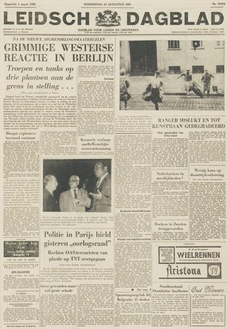 Leidsch Dagblad 1961-08-24