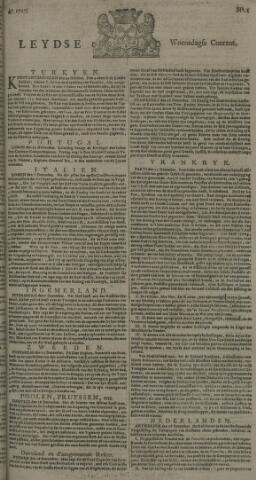 Leydse Courant 1727