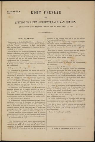 Handelingen van de Raad 1855-03-29