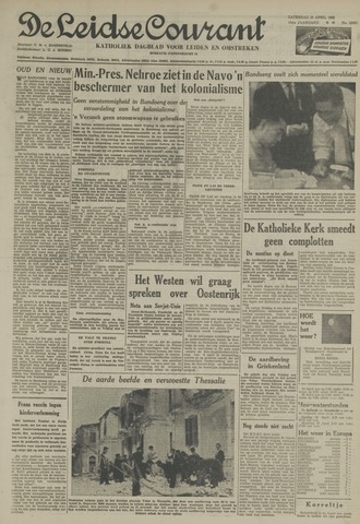 Leidse Courant 1955-04-23