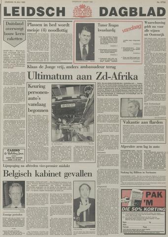 Leidsch Dagblad 1985-07-16