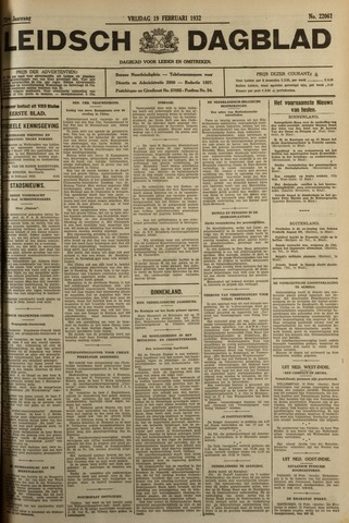 Leidsch Dagblad 1932-02-19