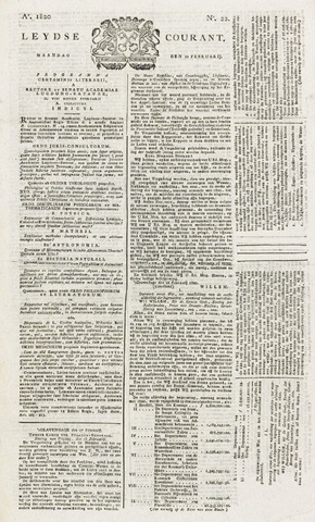 Leydse Courant 1820-02-21