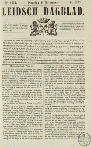 Leidsch Dagblad 1863-11-24