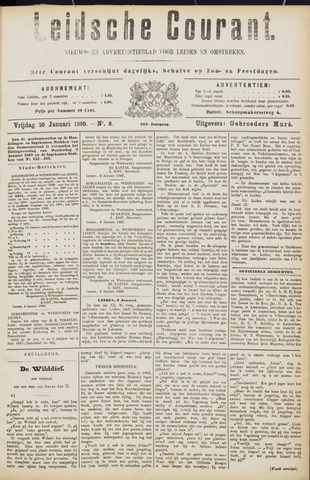 Leydse Courant 1890-01-10