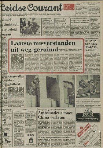 Leidse Courant 1981-01-20