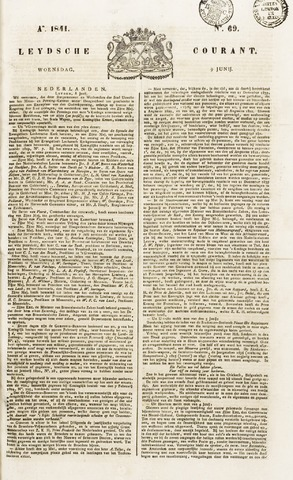 Leydse Courant 1841-06-09