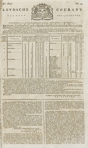 Leydse Courant 1825-02-14