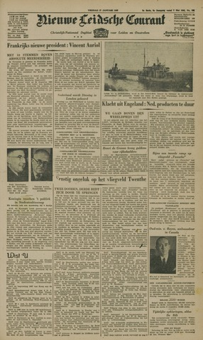 Nieuwe Leidsche Courant 1947-01-17