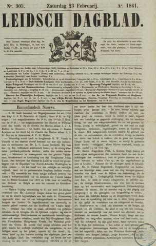Leidsch Dagblad 1861-02-23