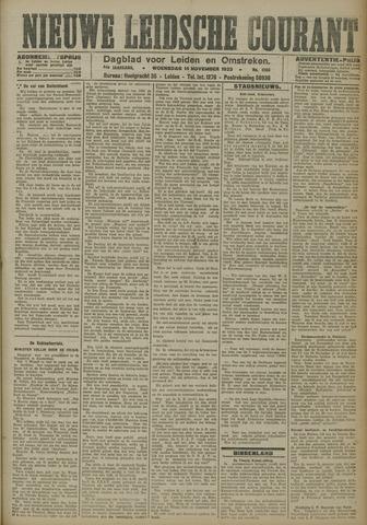 Nieuwe Leidsche Courant 1923-11-14