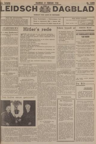 Leidsch Dagblad 1938-02-21