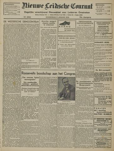 Nieuwe Leidsche Courant 1939-01-05