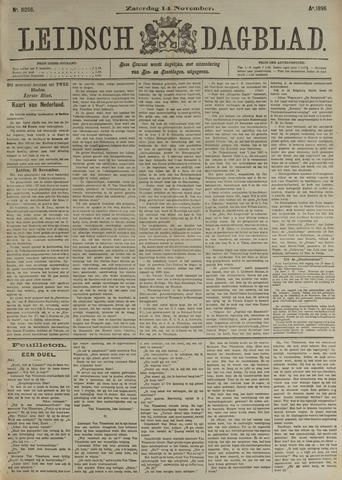 Leidsch Dagblad 1896-11-14