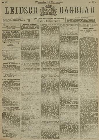 Leidsch Dagblad 1904-11-16