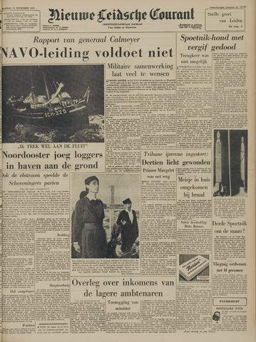 Nieuwe Leidsche Courant 1957-11-11
