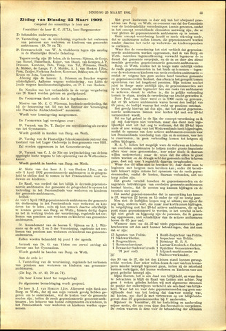Handelingen van de Raad 1902-03-25