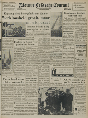 Nieuwe Leidsche Courant 1957-11-28