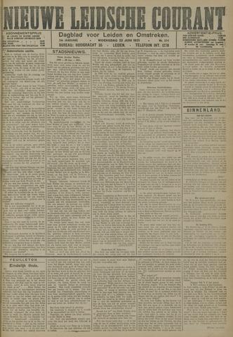 Nieuwe Leidsche Courant 1921-06-22
