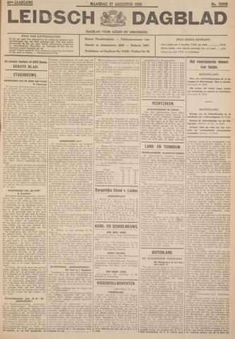 Leidsch Dagblad 1928-08-27