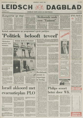 Leidsch Dagblad 1982-08-19
