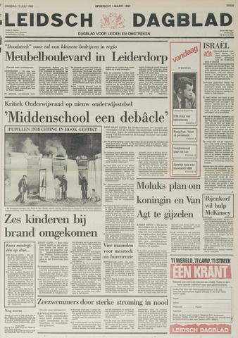 Leidsch Dagblad 1982-07-13