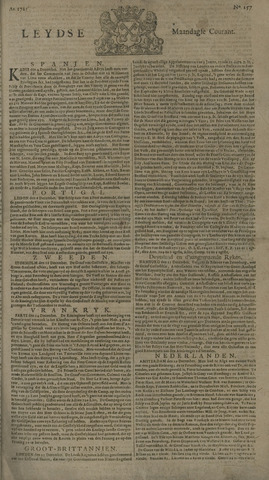 Leydse Courant 1725-12-31