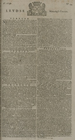 Leydse Courant 1739-04-13