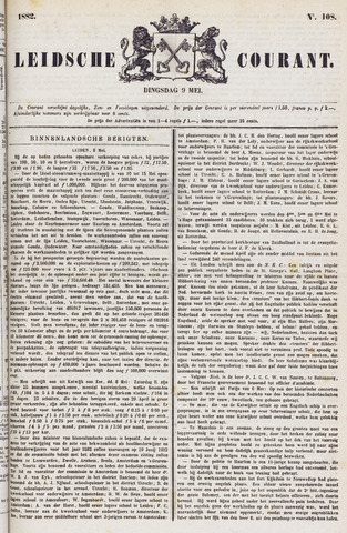 Leydse Courant 1882-05-09
