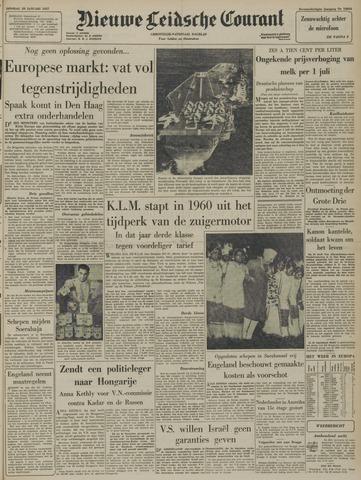 Nieuwe Leidsche Courant 1957-01-29