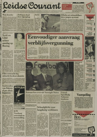 Leidse Courant 1989-02-02