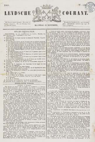 Leydse Courant 1866-11-19