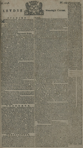 Leydse Courant 1748-09-09