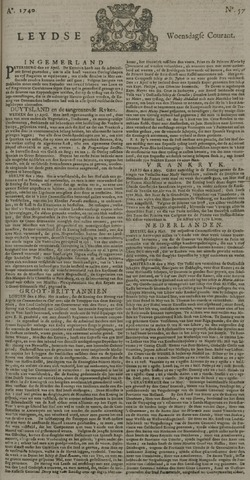Leydse Courant 1740-05-11