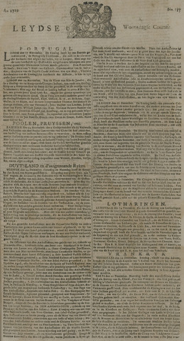 Leydse Courant 1729-12-28