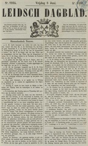Leidsch Dagblad 1866-06-08