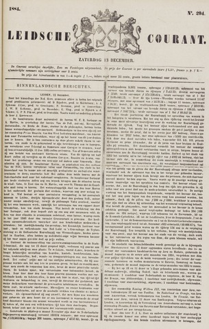 Leydse Courant 1884-12-13