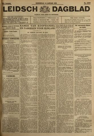 Leidsch Dagblad 1932-01-14
