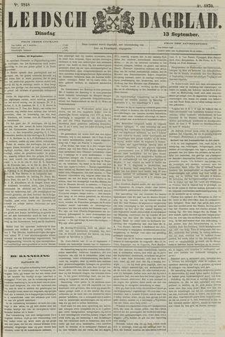 Leidsch Dagblad 1870-09-13