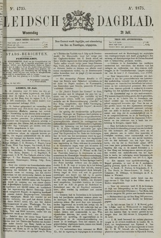 Leidsch Dagblad 1875-07-21