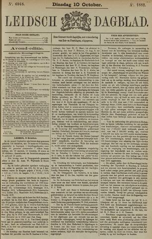 Leidsch Dagblad 1882-10-10
