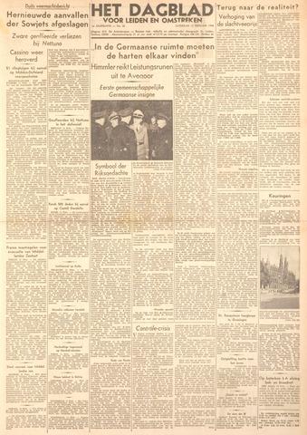Dagblad voor Leiden en Omstreken 1944-02-12