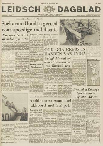 Leidsch Dagblad 1961-12-19