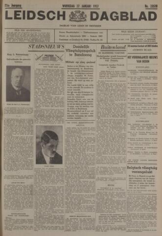 Leidsch Dagblad 1937-01-27