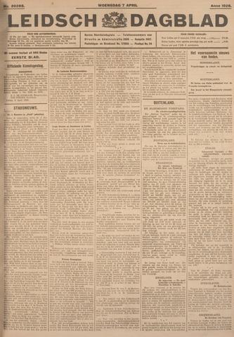 Leidsch Dagblad 1926-04-07