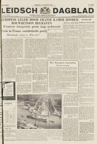 Leidsch Dagblad 1954-08-31