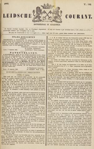 Leydse Courant 1883-08-16